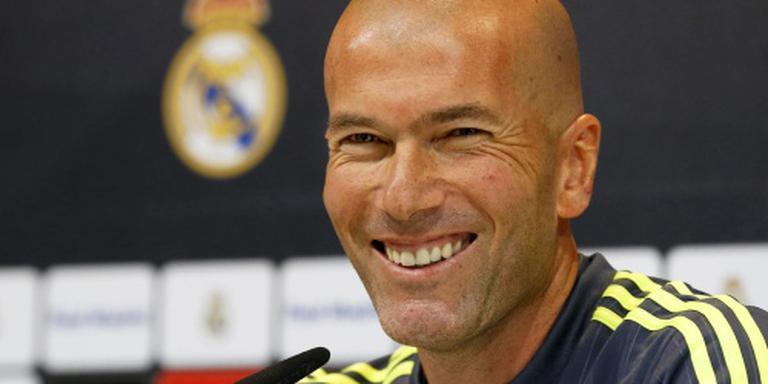Zidane voelt geen stress voor debuut