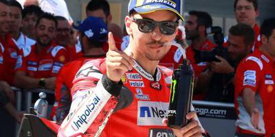 Motorcoureur Lorenzo op pole in Aragón