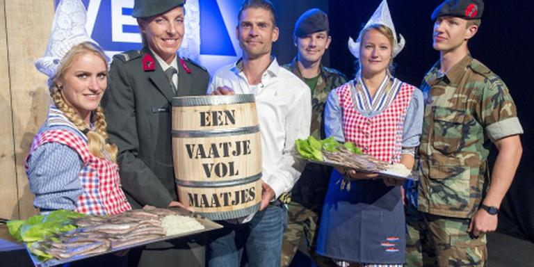 Eerste vaatje haring brengt 90.000 euro op