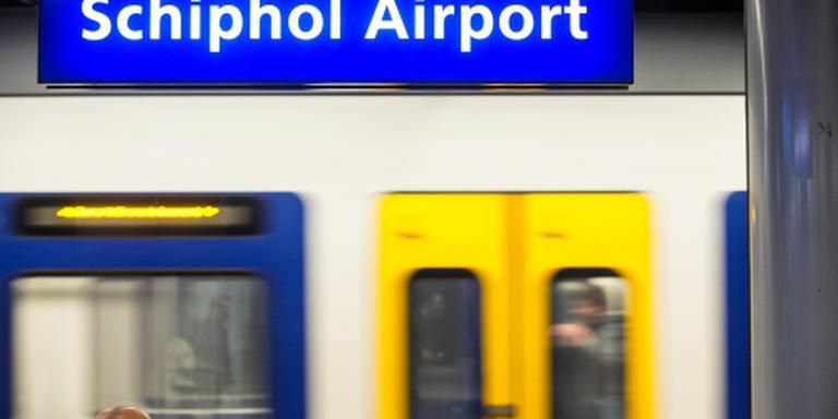 Minder treinen rond Schiphol door werk