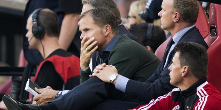 Bergkamp niet meer op bank Ajax