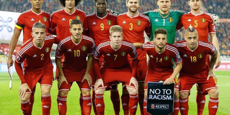 Rode Duivels schrappen training Brussel