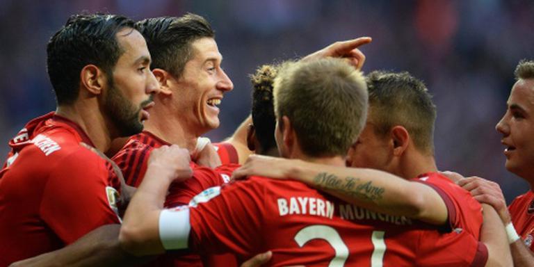 Bayern verslaat ook Schalke