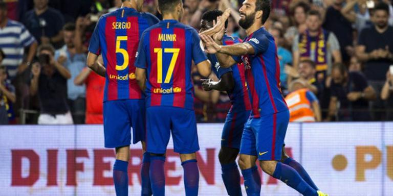 Spaanse Super Cup voor FC Barcelona