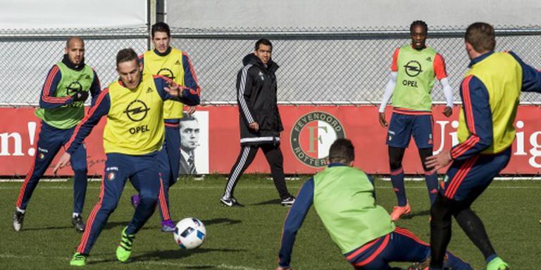 Feyenoord met vaste elf tegen FC Groningen
