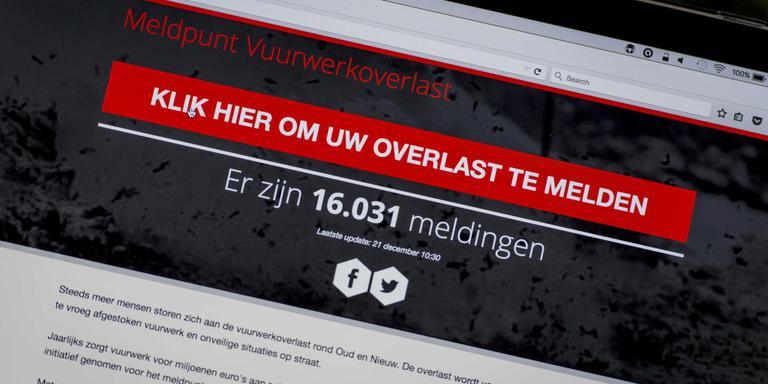 Hackers vallen meldpunt vuurwerkoverlast aan