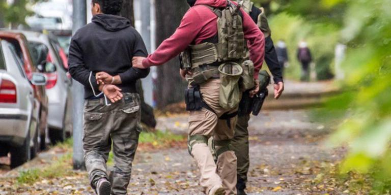 Aanhoudingen in Chemnitz na klopjacht