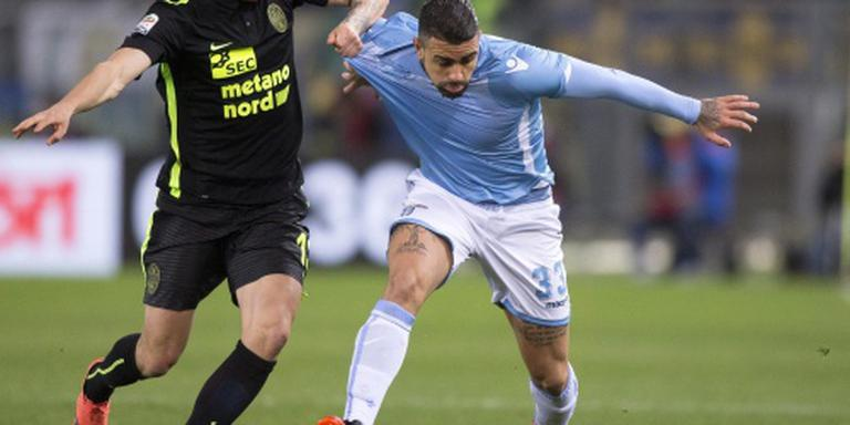 Lazio ruim langs Verona