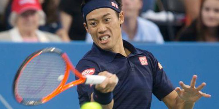 Nishikori wint bij rentree op hoogste niveau