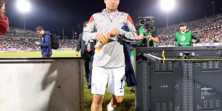 Amerikaanse voetballer Donovan is terug