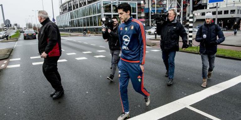 Vejinovic en Kramer trainen met Feyenoord
