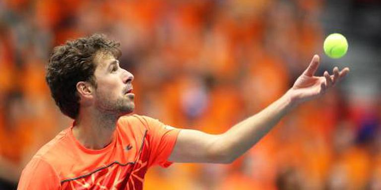 Haase vs. De Bakker, Federer treft qualifier