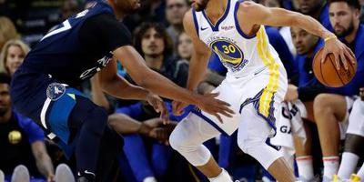 Curry helpt Warriors langs Thunder
