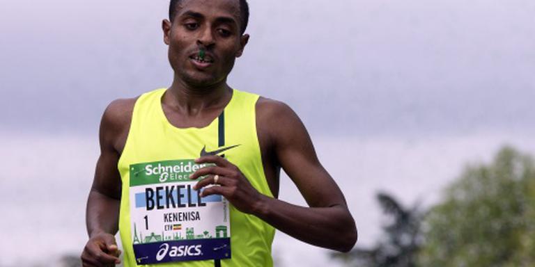 Bekele wint marathon Berlijn in toptijd