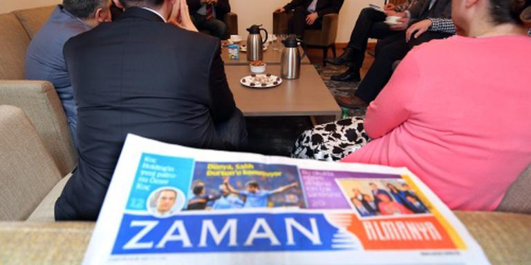 Turkije blokkeert buitenlandse edities Zaman
