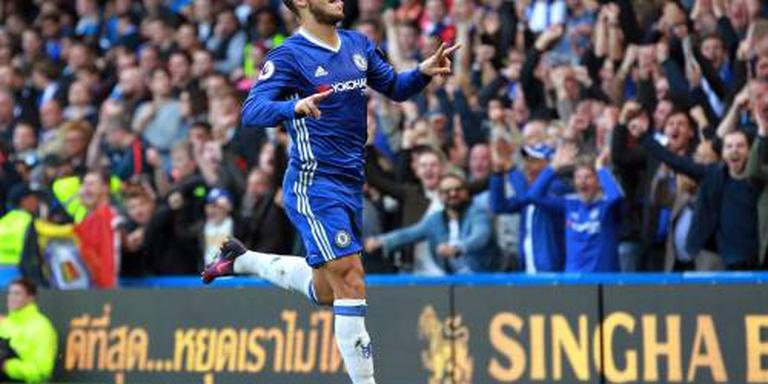 Hazard en Costa op tijd fit bij Chelsea