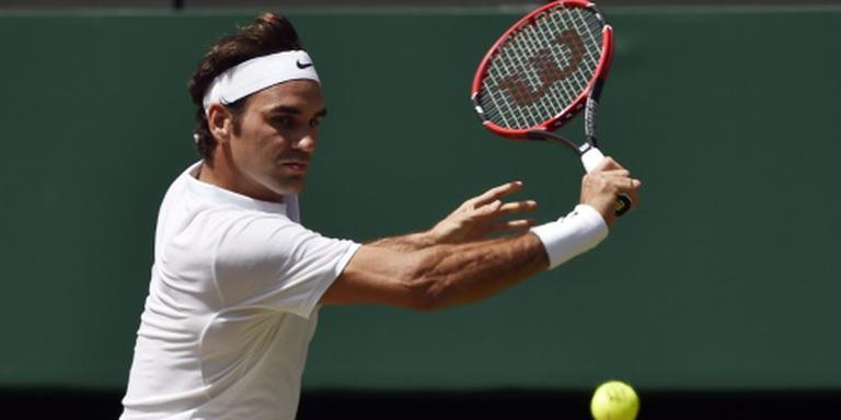 Cilic laat Federer ontsnappen op Wimbledon