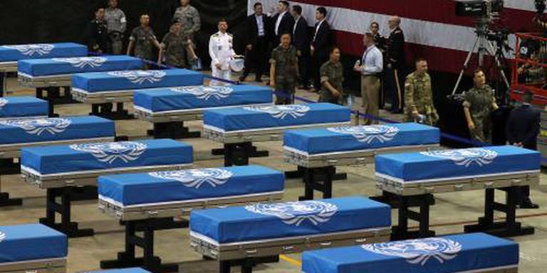 Resten Amerikaanse militairen aangekomen in VS