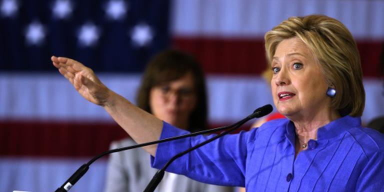 Ruime voorsprong Clinton in nieuwe peiling