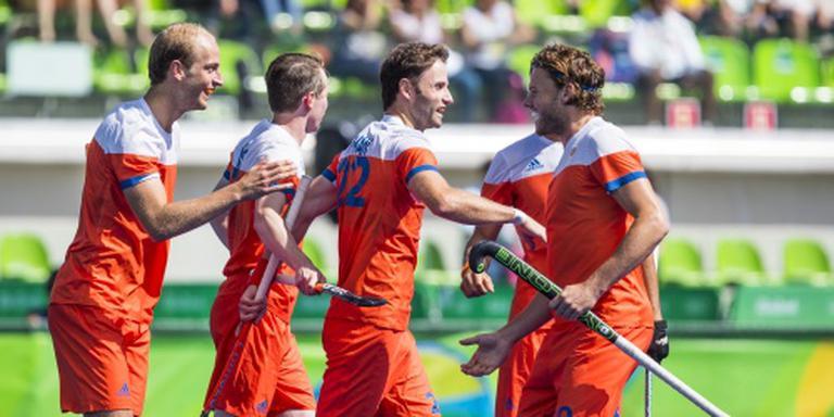 Nederlandse hockeyers verslaan India
