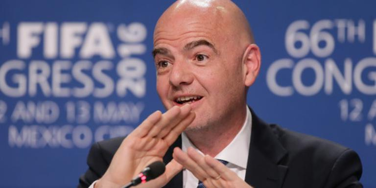 Salaris FIFA-baas Infantino 1,4 miljoen