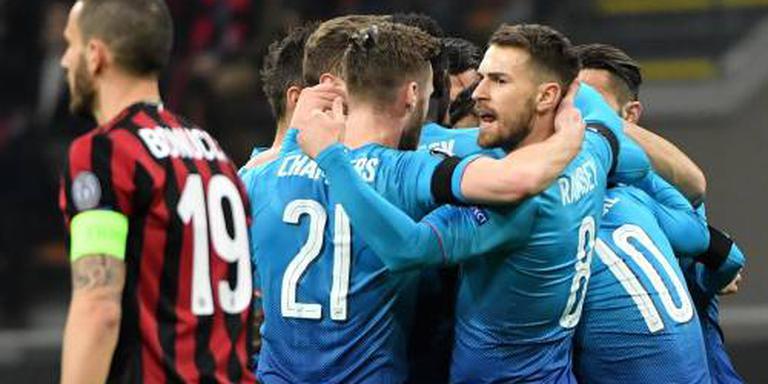 Arsenal gunt AC Milan geen kans