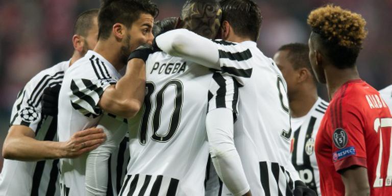 Bayern op karakter langs Juventus
