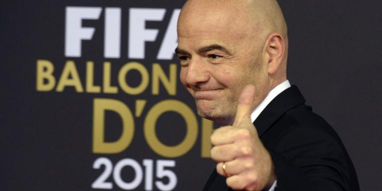 UEFA ondersteunt Infantino met 5 ton