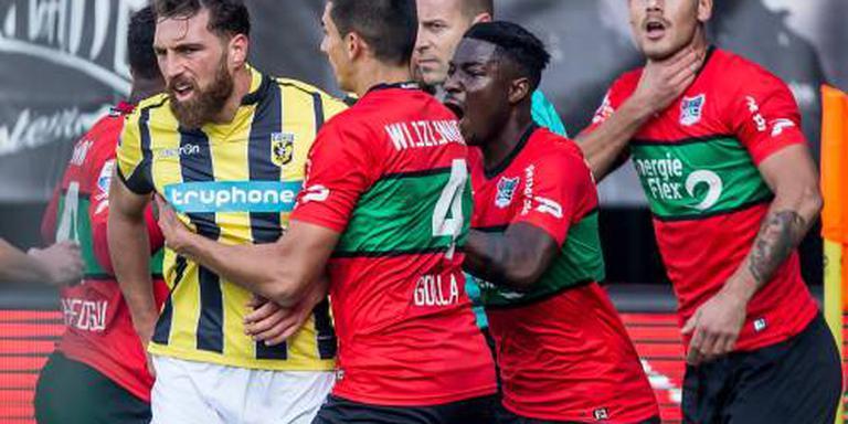 NEC knokt zich naar punt tegen Vitesse