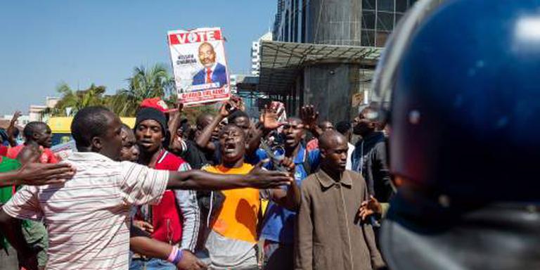 Rellen in Harare na verkiezing Zimbabwe