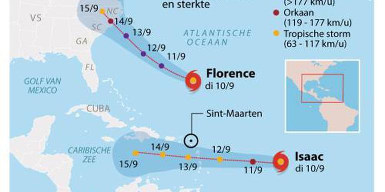 Ook Washington maakt zich op voor Florence