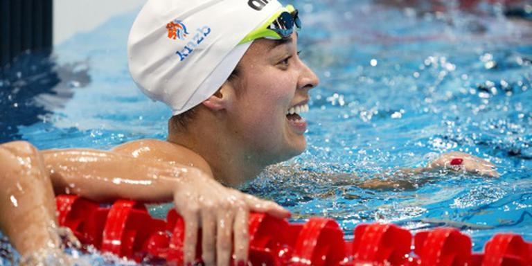Zwemster Kromowidjojo naar halve finale