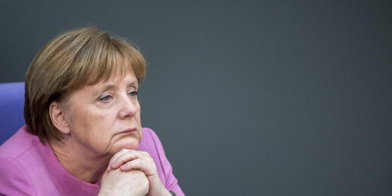 Duitsers hebben steeds meer moeite met Merkel