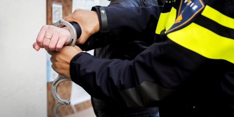 De Urker werd aangehouden. FOTO ANP