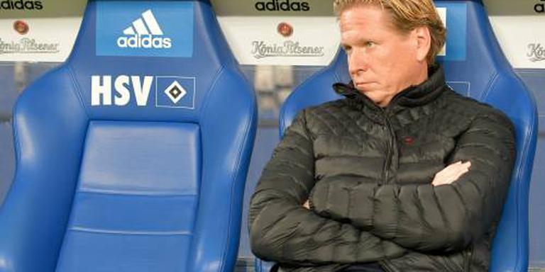 Coach Gisdol neemt maatregelen bij HSV