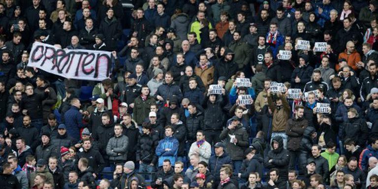 Feyenoord voorkomt protest tegen bestuur