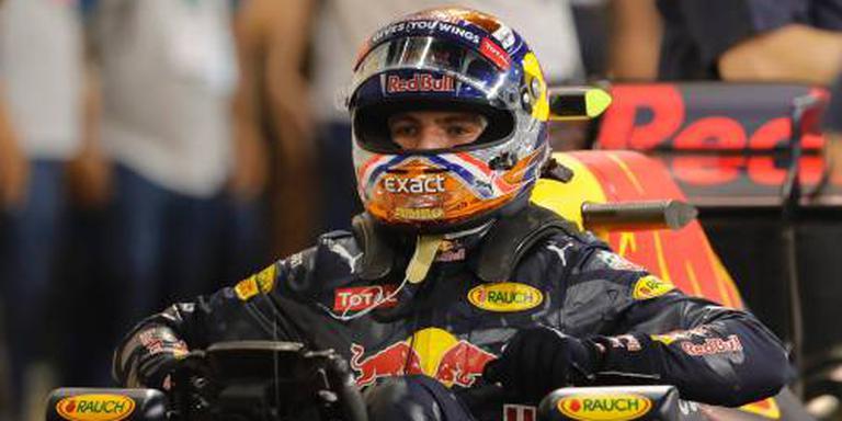Bij teambazen eindigt Verstappen voor Rosberg