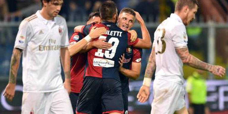 AC Milan verliest bij Genoa
