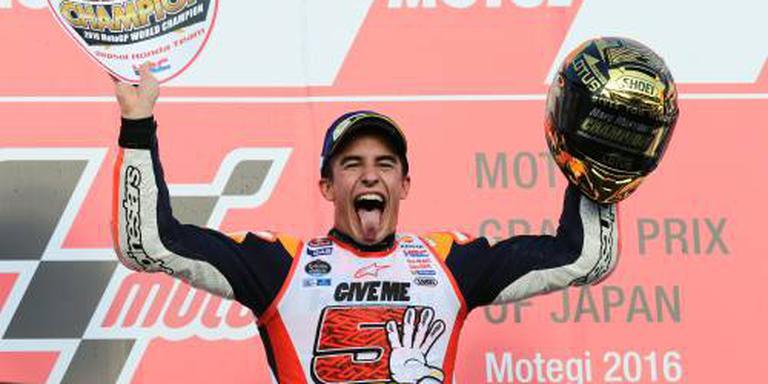 Wereldtitel Marquez in MotoGP