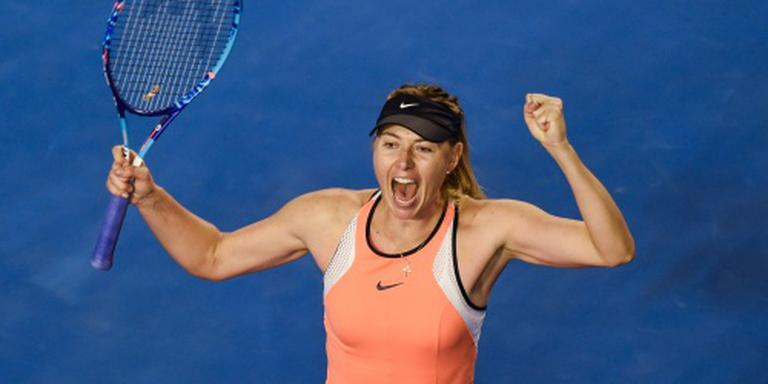 Sharapova langs Bencic in Australian Open