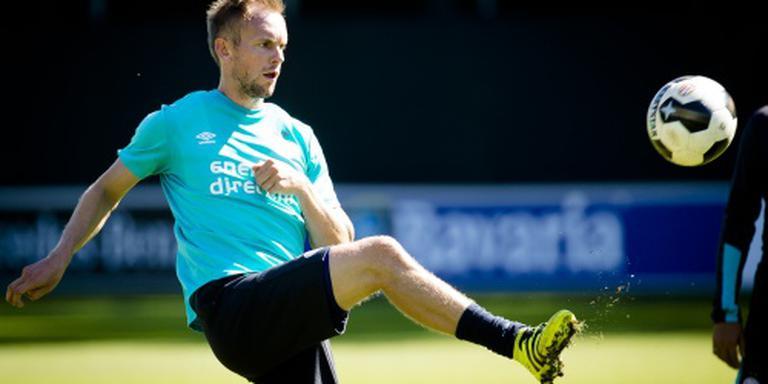 PSV met Pasveer en Siem de Jong tegen Roda