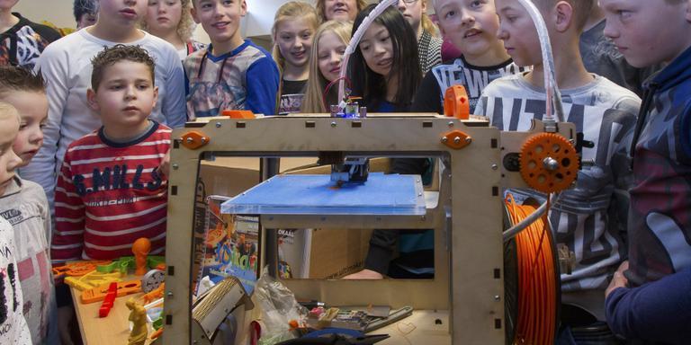 Provincie helpt Drentse basisscholen aan 3D-printers