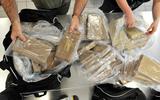 120 kilo coke onderschept en vijf arrestaties