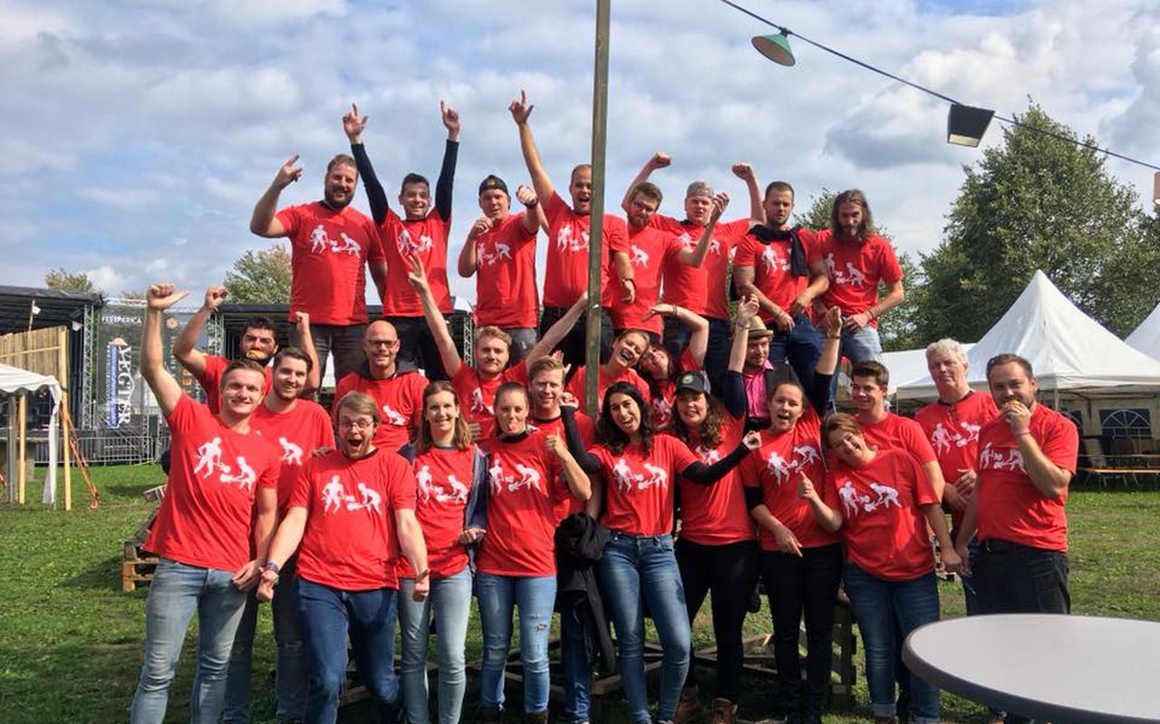 De groep vrijwilligers van Festerica in 2019.