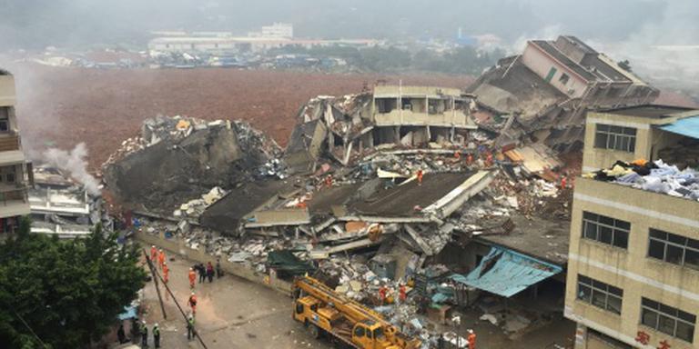 Circa 40 vermisten na aardverschuiving China