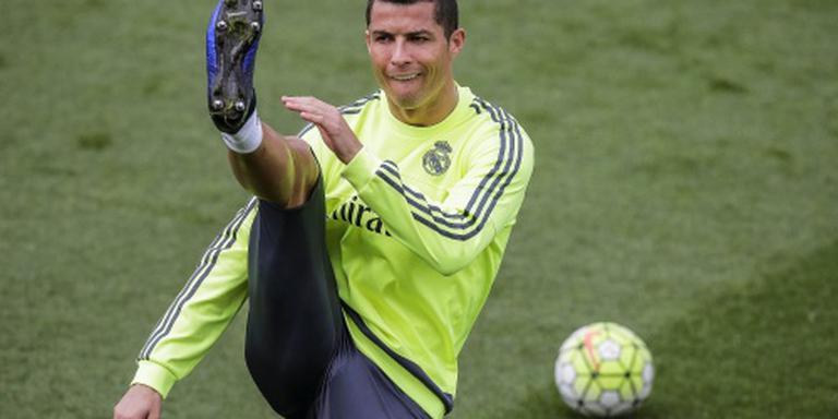 Ronaldo van de partij op training Real Madrid