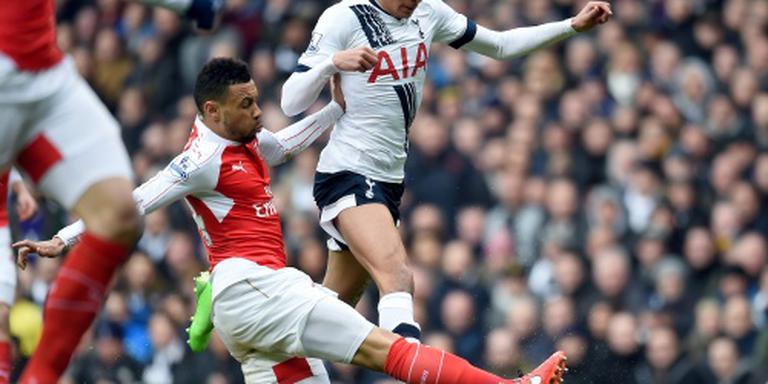 Spurs en Arsenal verliezen weer punten