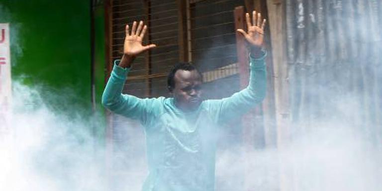 Traangas luidt inauguratie president Kenia in