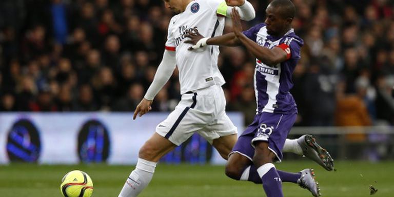 Zlatan bezorgt 'PSG' 23 punten voorsprong