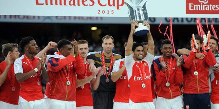 Geen Emirates Cup dit jaar